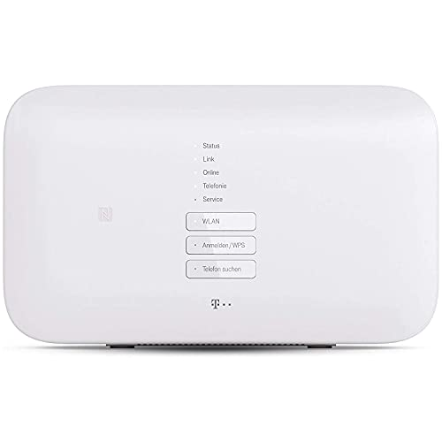 Telekom Router Speedport Smart 3 für schnelles Wifi mit bis zu 2500 Mbit/s | WLAN-Mesh-Technologie & Magenta SmartHome Basis integriert I ideal für Entertain TV in UHD & 4K I inkl. DECT Basisstation