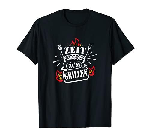 Zeit zum Grillen. Genieße die Freizeit am Grill BBQ T-Shirt