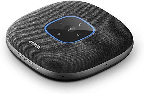 Anker PowerConf S3 Bluetooth Konferenzlautsprecher, 6 integrierte Mikrofone, verbesserter Tonaufnahme, 24 Std Gesprächszeit,Soundcore App Steuerung,Bluetooth 5,USB-C Generalüberholt)