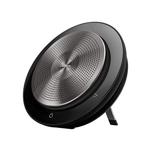 Jabra Speak 750 Konferenzlautsprecher - Unified Communications zertifizierter tragbarer Lautsprecher mit Bluetooth Adapter und USB-Anschluss - Für Laptop, Smartphone und Tablet