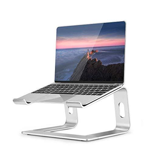 Laptop Ständer, OCDAY Notebook Ständer Halter für MacBook Pro/Air HP, MateBook, Lenovo alle 10'~16' Notebooks (Silber)
