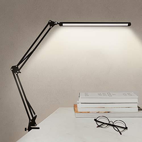 Schreibtischlampe LED 12W,Nur Verkäufe in Brightower Direct Shop, Jack Ruler sind gefälscht, bitte in Brighower Direct kaufen, Lernen