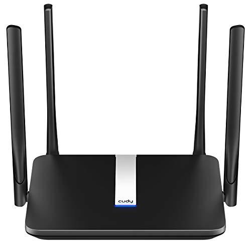 Cudy AC 1200Mbit/s WLAN 4G LTE Router, 150 Mbit/s LTE-Download, WLAN 300 Mbit/s(2,4GHz) + 867 Mbit/s(5GHz), LAN/WAN-Port, FDD und TDD, DDNS, VPN, OpenWRT, SIM Plug and Play, LT500