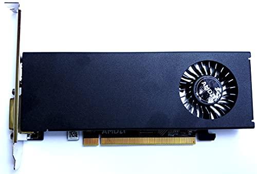AMD Gaming Radeon RX 550 2 GB GDDR5 Grafikkarte (AMD, PCI-E 3.0, 2GB DDR5 Speicher, 1xHDMI, 1xDVI)