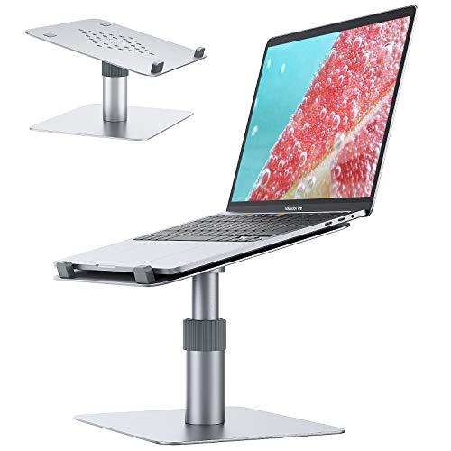 Laptop Ständer 360 °Drehbarer Laptop Stand Notebookständer Halterung Höhenverstellbar Halter Schreibtisch kompatibel für 10-15.6Zoll Laptop Notebook