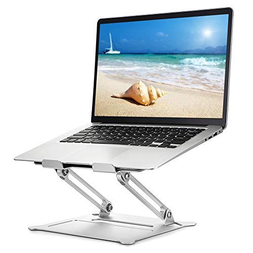Usoun Laptop Ständer, Einstellbar Notebook Ständer, ergonomischer Computerständer für den Schreibtisch, Verstellbarer Laptop Ständer kompatibel für MacBook Air/Pro, Dell, HP, Lenovo, 10-17' Laptops