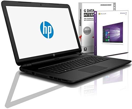 HP (17,3 Zoll) Notebook (Intel N4020 2Core 2x2.60 GHz, 8GB RAM, 512 GB SSD, Intel HD600, HDMI, Webcam, Bluetooth, USB 3.0, WLAN, leichte 2kg, Windows 10 Prof. 64 Bit, #6748
