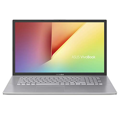ASUS VivoBook S17 S712JA-AU116T Laptop 43,9 cm (17,3 Zoll, Full HD, 1920x1080, matt) Notebook (Intel Core i3-1005G1, 8GB RAM, 512GB SSD, Intel UHD Graphics, Win10H) Transparent Silver