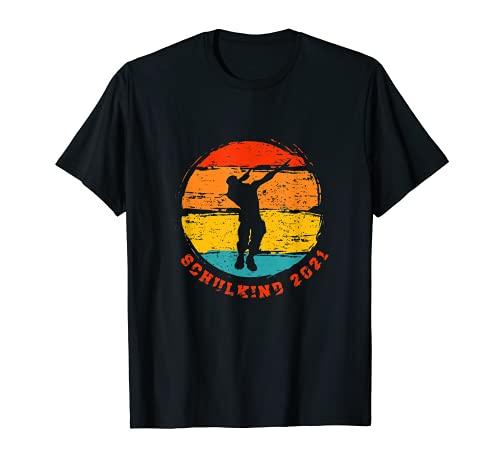 Schulkind 2021 Kinder Einschulung Schulanfang Schule T-Shirt